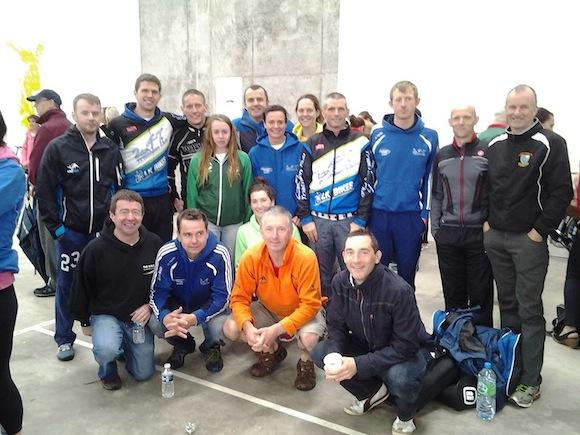 Members of the 24/7 Triathlon Club