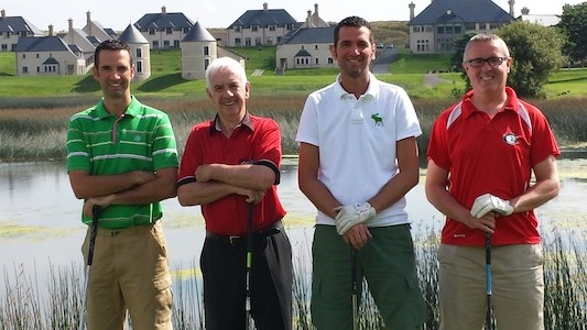 It's a real family affair for these Letterkenny golfers