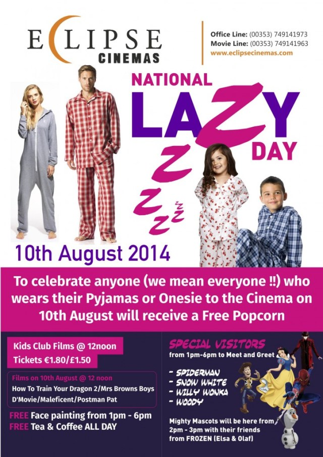 EclipseCinemas-national_Lazy_Day_Poster