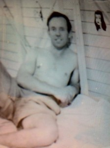 Hughie as a younger man.