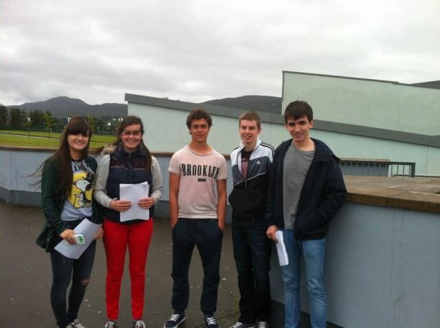 Photo 3 Roisin Carr, Hazel O Driscoll, Adam Khavia, Padraic Ferry, Seamus Doherty.