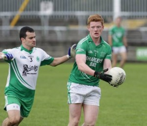 Paul 'The Yank' Boyle was sent off as Naomh Muire were narrowly defeated upon their return to the Donegal SFC against Naomh Conaill.