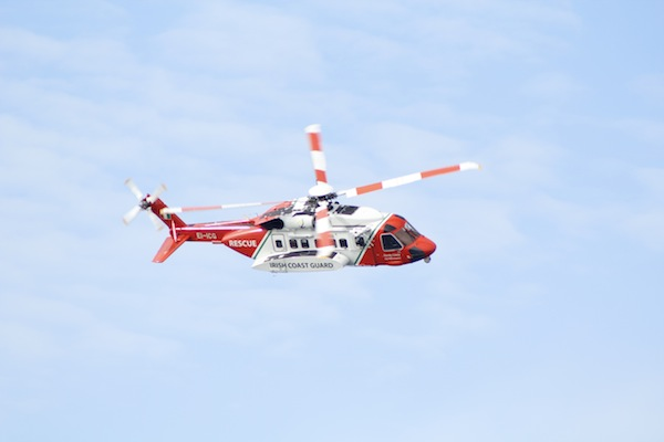 The Rescue 188 helicopter