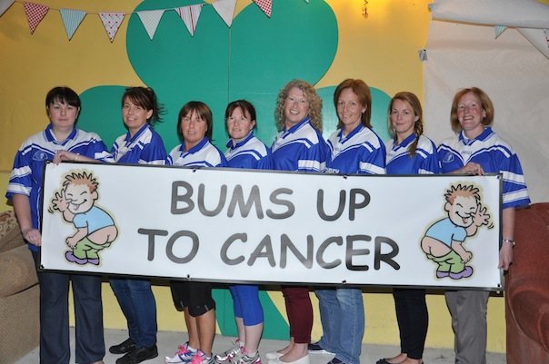 These Cloughaneely ladies are giving the bums up to cancer!
