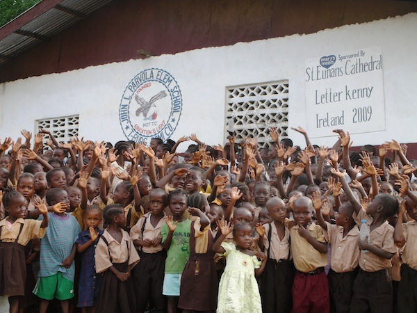 The John Parvola school now has 800 children, all who are fed by Mary's Meals.
