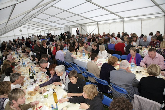 The 2010 feast which was a huge success!
