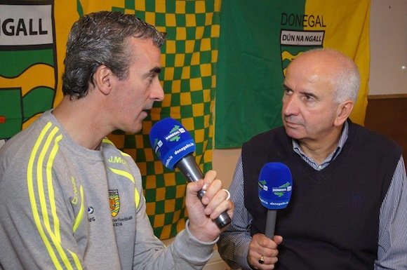 Jim McGuinness chats with Charlie Collins from DonegalTV in the documentary which will be aired tonight.