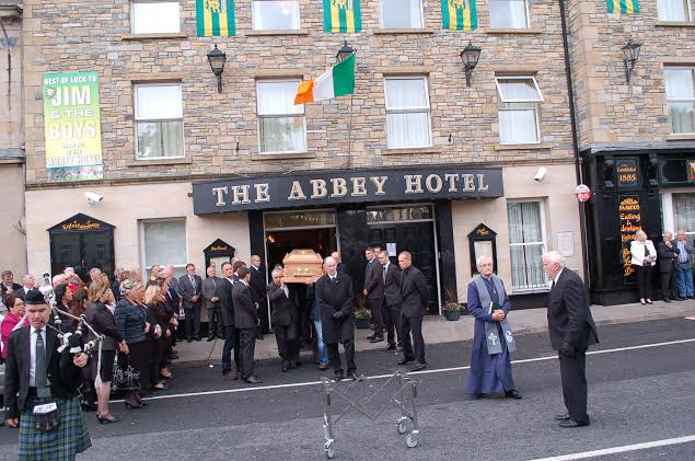 Jim White leaves his beloved Abbey for the last time