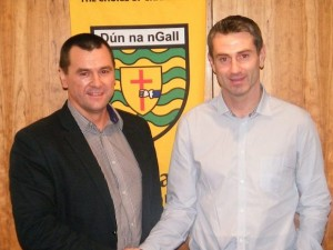 New Donegal manager Rory Gallagher is permitted from gathering his squad together for collective training until December 29th.