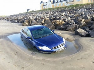 The Mondeo car this mroning.