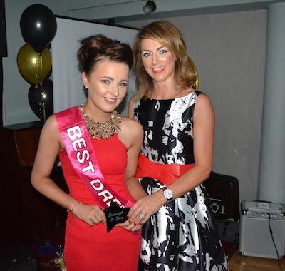 Best dressed female Niamh Boyle with Ms Mc Geehan