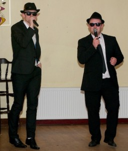 Craig Kelly and Michael Curan were superb as The Blues Brothers