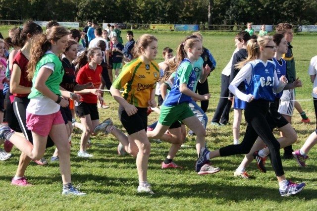 Donegal Secondary Schools Cross Country at Finn Valley 13