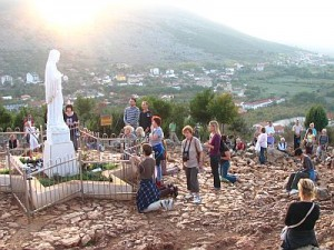 Pligrims will finally get here today to Medjugorje