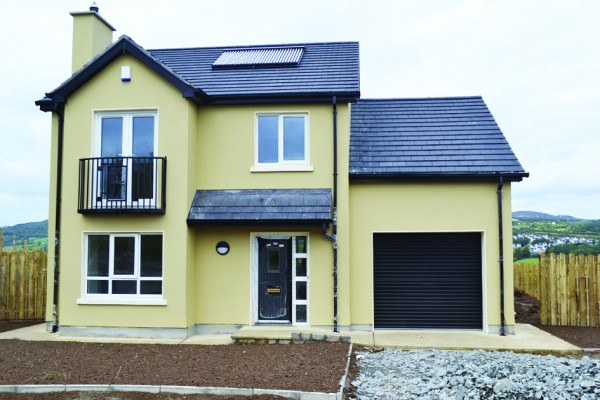 """One of the """"A"""" rated energy efficient new houses at Rann Mor Meadow, Letterkenny."""