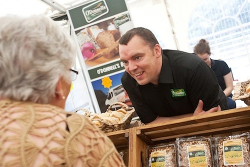 Andrew McElhinney of O'Donnell's Bakery, just one of the many businesses booked to exhibit at tomorrow's Doing Business in Donegal showcase and trade fair in the Mount Errigal hotel.
