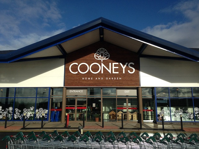 The brand new Cooney's Home and Garden store in Letterkenny.