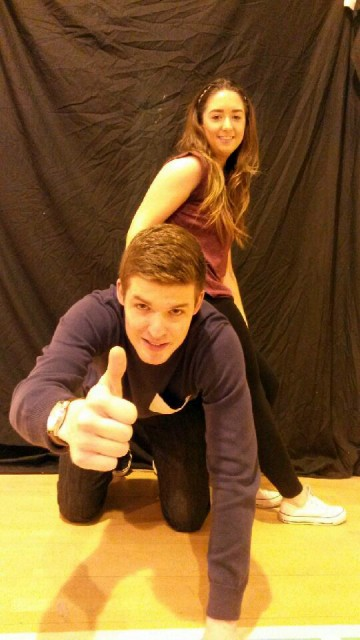 Evin Devenney and Sonia Toland are all set to give a real night of entertainment at the Deele College Strictly Come Dancing on December 6th.