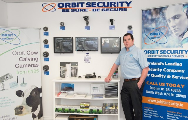 Orbit Security 1.    Photo Clive Wasson