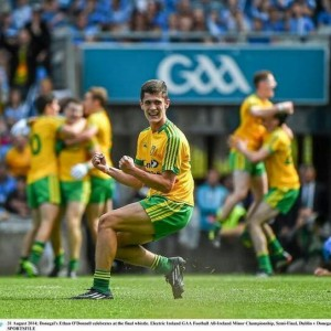 Donegal Minor star Ethan O'Donnell will be a crucial player for Naomh Conaill when they face Ardara in the Minor Regional Semi-Final on Sunday