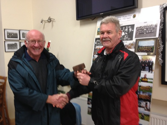 After 28 years, Letterkenny RFC stalwart Jim Moore finally got hammered!