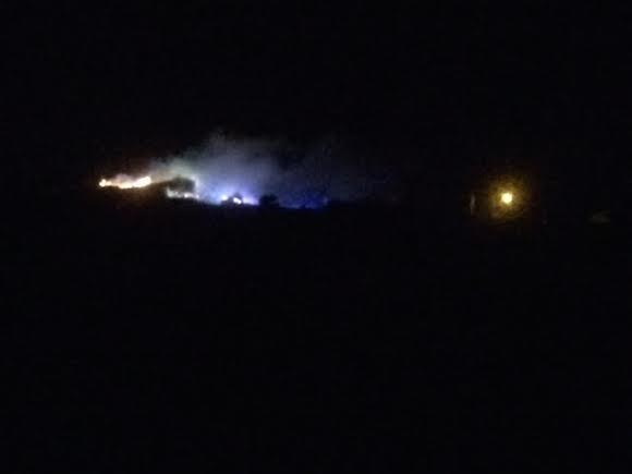 The house fire in the early hours of this morning