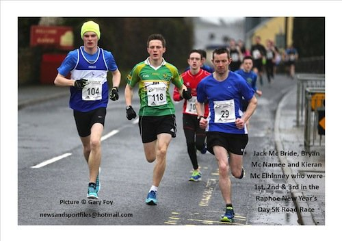 1st Three Raphoe New Year's Day