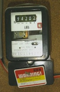 A man was injured after the ESB meter was tampered with.