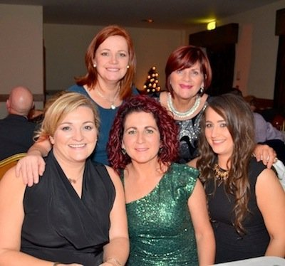 Some very well-known Glenswilly ladies looking a million dollars (each!) at the Glenswilly GA dinner dance.