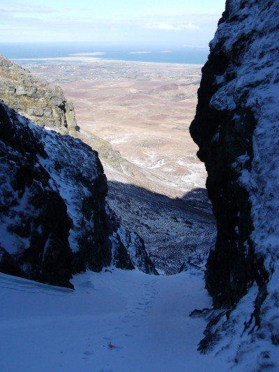 Winter climbing ireland