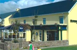The Seaview Hotel in Gaoth Dobhair which closed last night.
