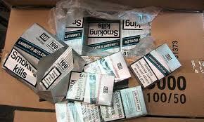 Illegal cigarettes.