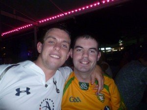 Cappry Rovers are expected to relieve Ross Doherty (pictured here in a Donegal GAA jersey) of his club duties after he was found guilty of jumping on the GAA bandwagon since 2012.
