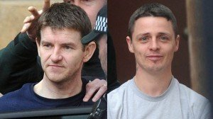 Gary McDaid (left) fined for cigarette smuggling and Seamus McLaughlin jailed for 12 years for having lethal mortar bombs shipped from Donegal