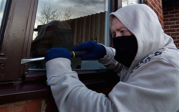 Burglaries have risen across the Finn Valley.