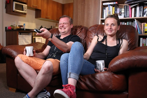 Szymon and Aga are living in Tallaght but are originally from Poland.