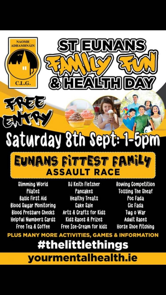Family fun & health day to be held tomorrow in Letterkenny