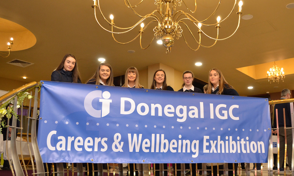 Donegal IGC Careers and Wellbeing expo shows the future is bright
