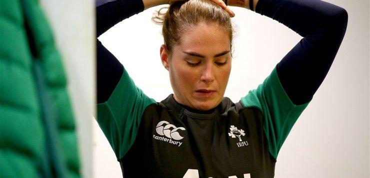 Ireland out-half Nora Stapleton