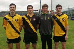 Fionn Gallagher, Eoin O Boyle, Conal O'Donnell and Luke Gavigan