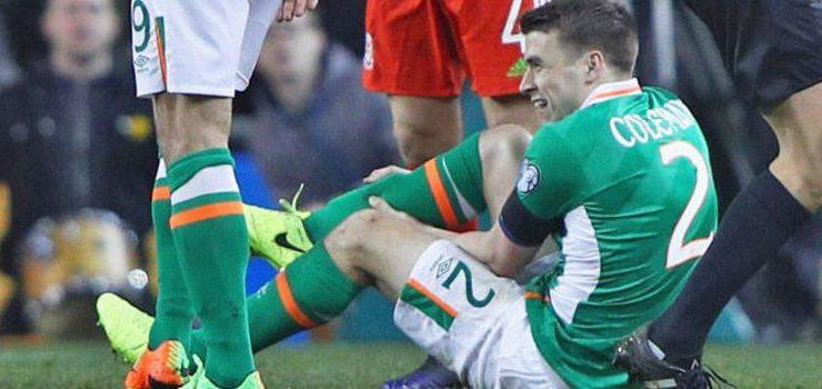 Some of the all-time greats have wished Seamus Coleman a speedy recovery on Twitter