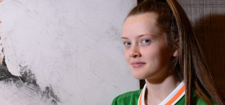 Republic of Ireland Women's Under 17 Squad Portraits
