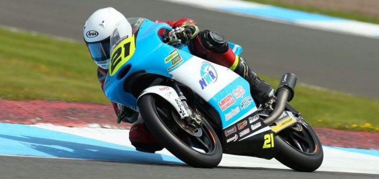 Successful weekend at Knockhill for Richard Kerr