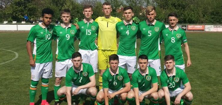 Jack Keaney makes Irish Under-18 debut at Slovakia Cup