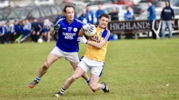 Pauric Carr Kilcar and Leon Thompson Naomh Conaill
