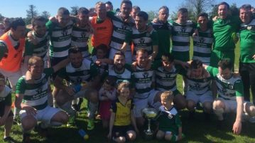 Cockhill Celtic celebrate
