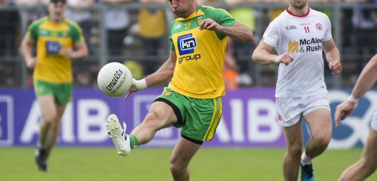 Karl Lacey could equal a Donegal record on Saturday