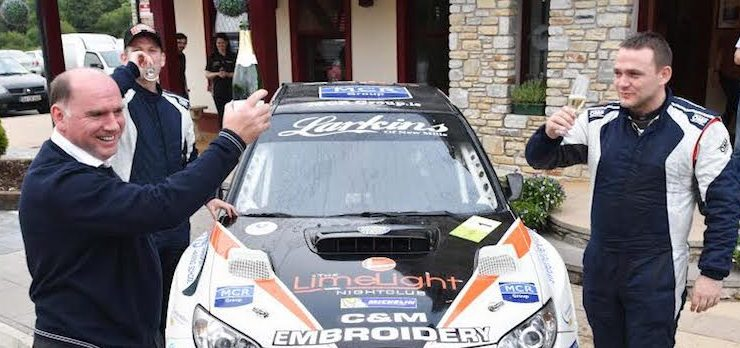 Rally legend Andrew Nesbitt backs Manus Kelly for further glory