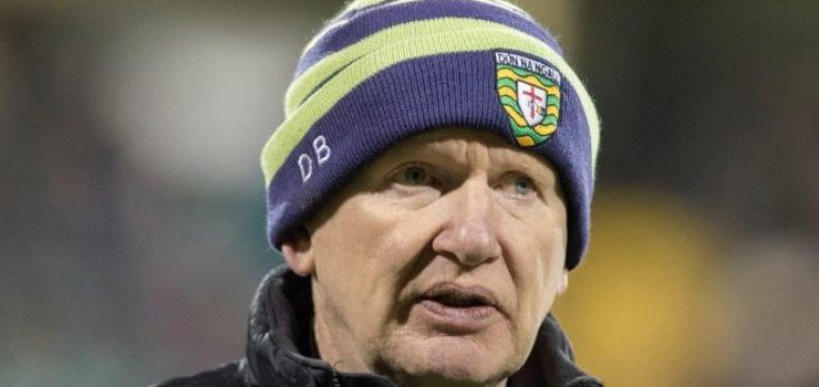Listen: Declan Bonner says 'four-pointer' with Kildare is 'must win' for Donegal