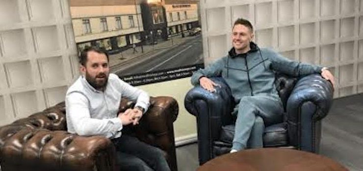 Watch: Jason Quigley on his run-in to Easter return in Boston
